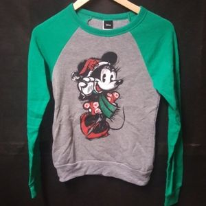 3/$10 Juniors Minnie Mouse Holiday Sweater
